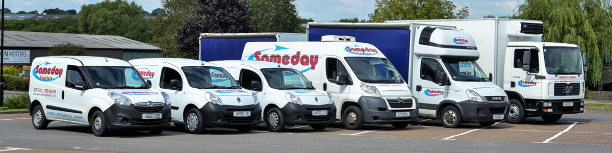 Same Day Courier Vehicle Guide (UK)